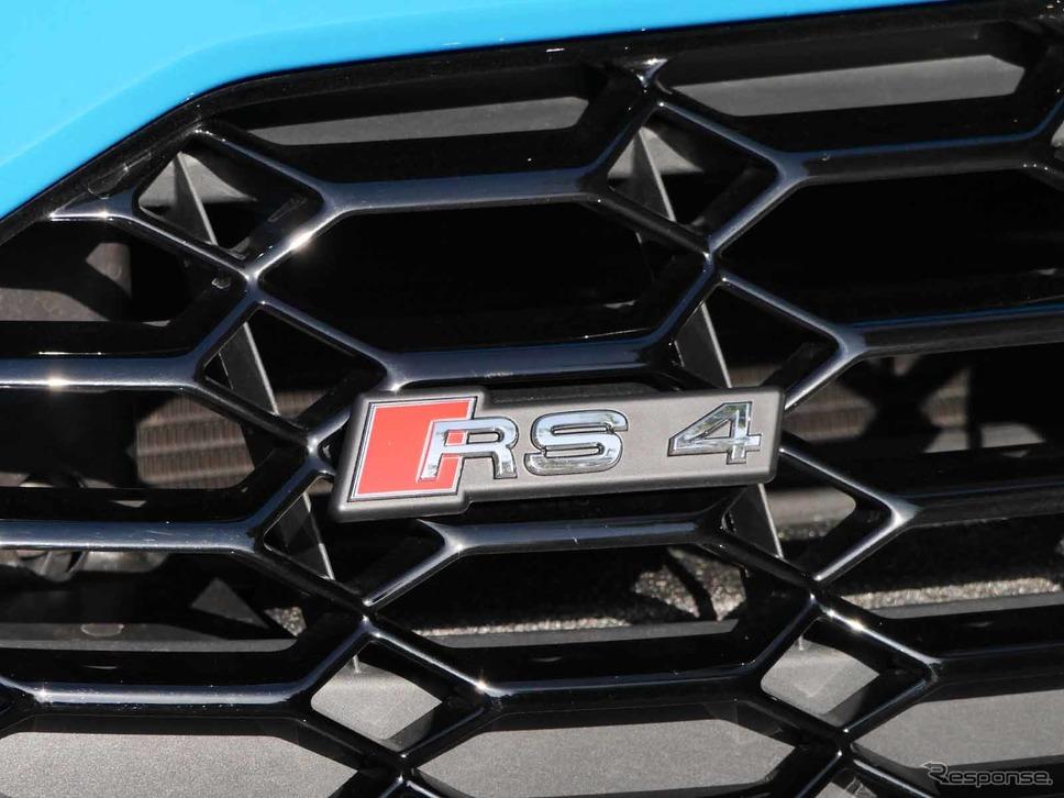 アウディ RS4アバント 新型《写真撮影 中村孝仁》