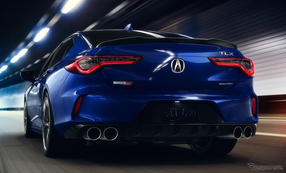 アキュラ TLX 新型のタイプS《photo by Acura》