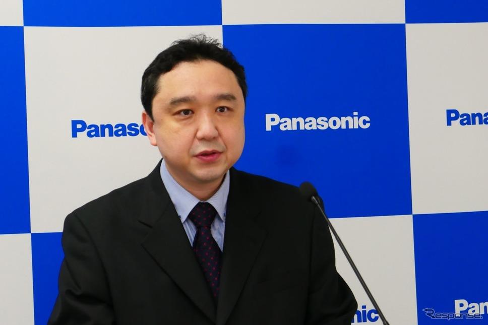 パナソニック テクノロジー本部事業開発室の山田和範主幹《写真提供 パナソニック》