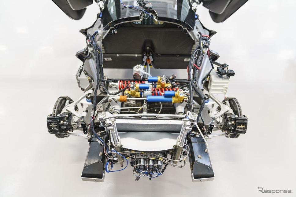 ロータス・エヴァイヤ のプロトタイプ《photo by Lotus Cars》