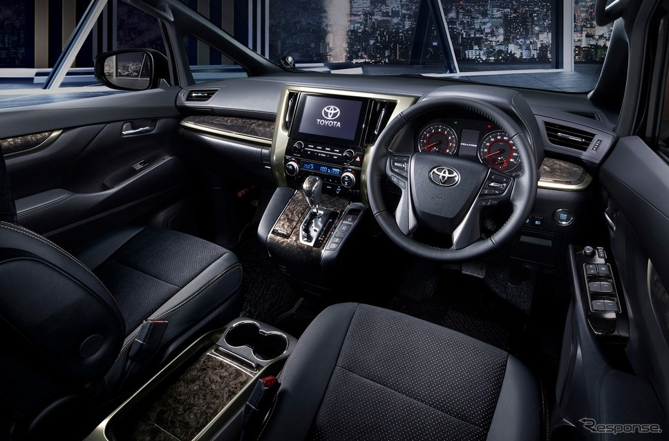 トヨタ ヴェルファイア ゴールデンアイズII(内装色 : ブラック)《写真提供 トヨタ自動車》