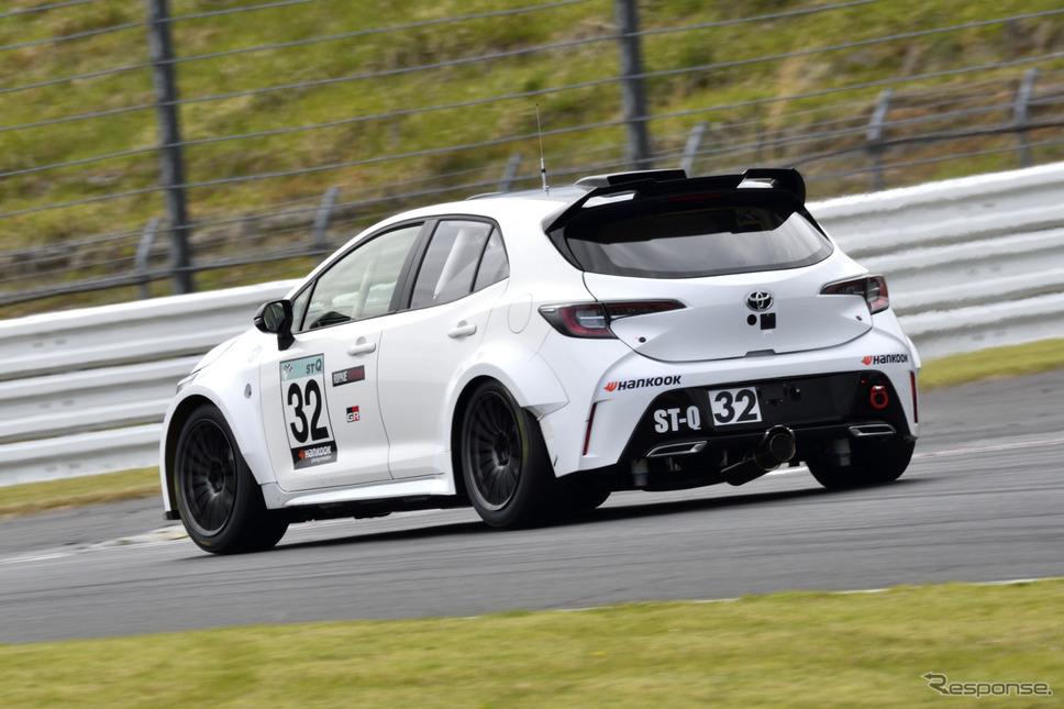 スーパー耐久シリーズに参戦する「水素エンジン」搭載のカローラスポーツ《写真撮影 雪岡直樹》