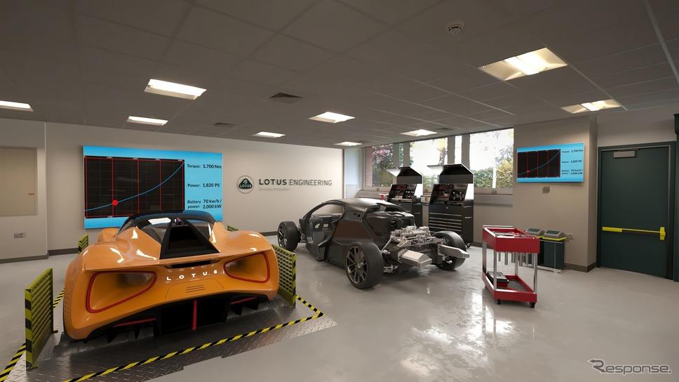 「ロータス・アドバンスト・パフォーマンス・センター(LATC)」の完成予想図《photo by Lotus》