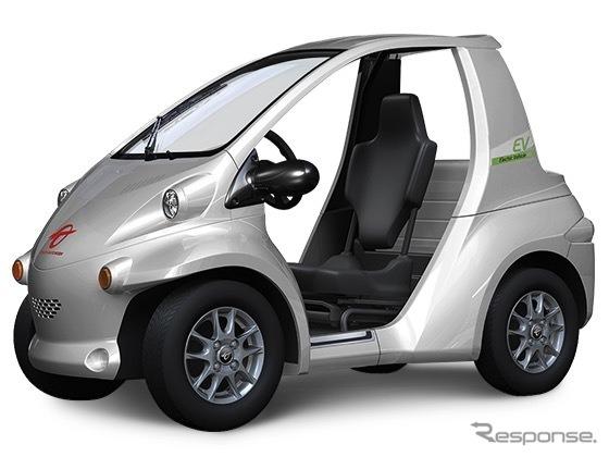 トヨタ車体コムス(参考画像)《写真 トヨタ車体》