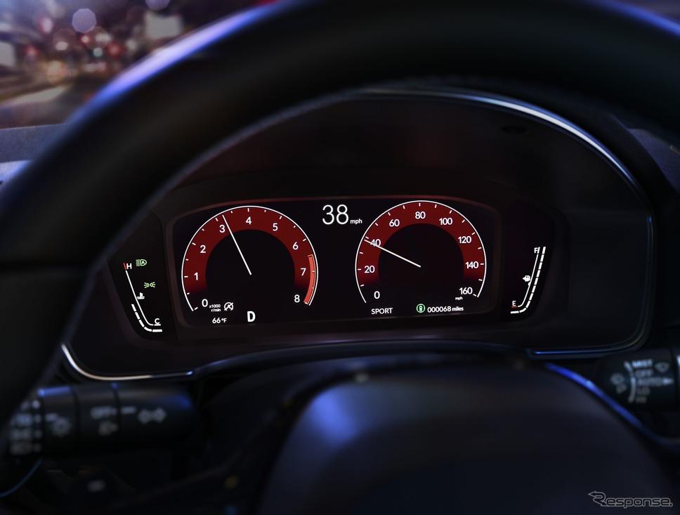 ホンダ・シビック・セダン 新型《photo by Honda》