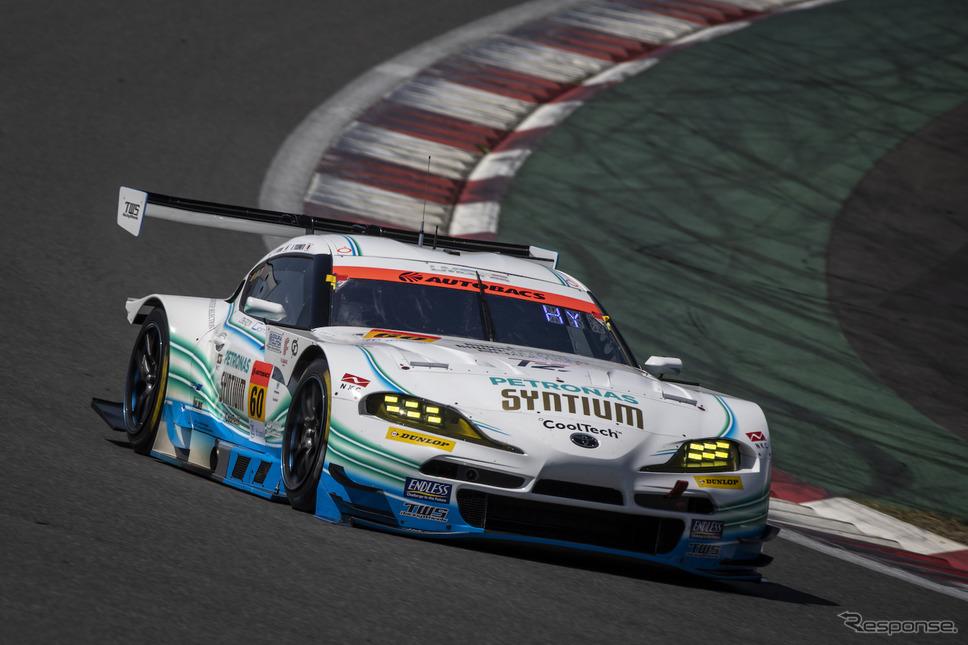 GT300クラス予選3位の#52 埼玉トヨペットGB GR Supra GT(吉田広樹/川合孝汰)《写真撮影 益田和久》