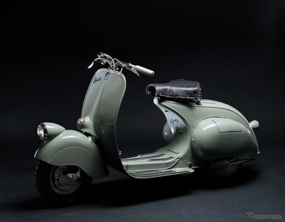 ベスパ98(1946年)《photo by Vespa》