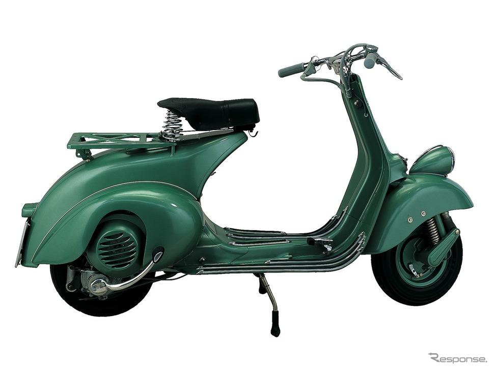 ベスパによると『ローマの休日』劇中車は1951年型ベスパ125《photo by Vespa》
