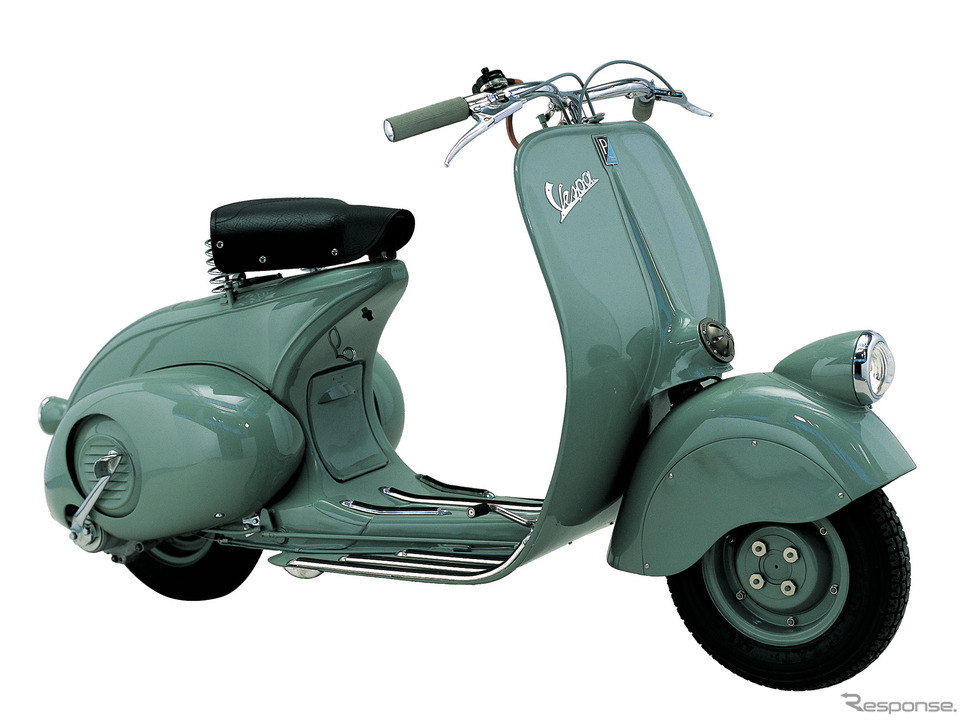 ベスパ98(1946年)《photo by Vespa》