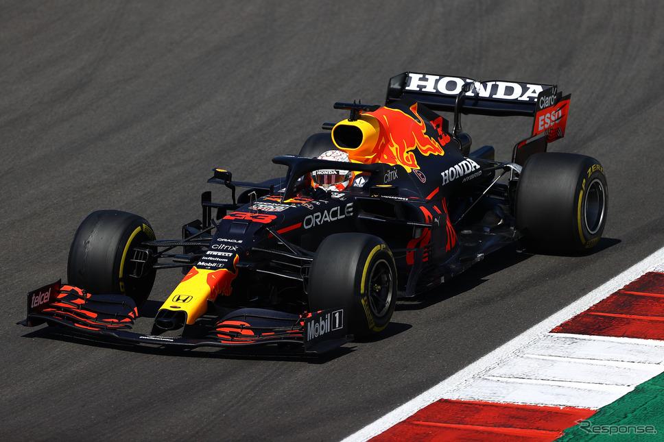 #33 マックス・フェルスタッペン(写真はポルトガルGP)。《Photo (c)Red Bull Racing Honda》