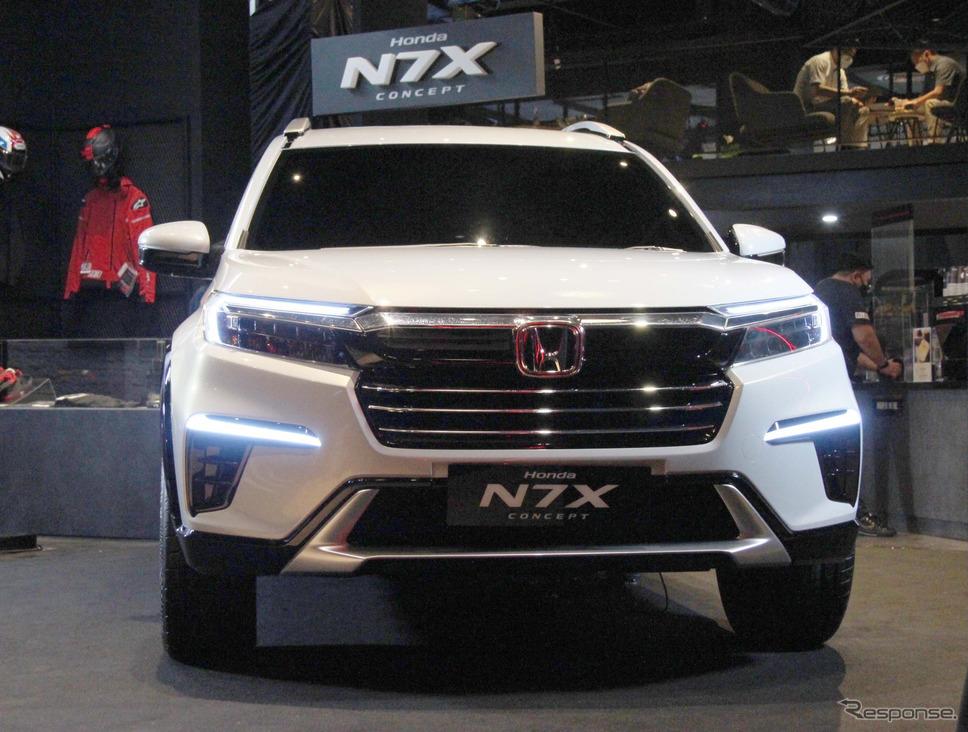 ホンダ N7X コンセプト《photo by Honda》