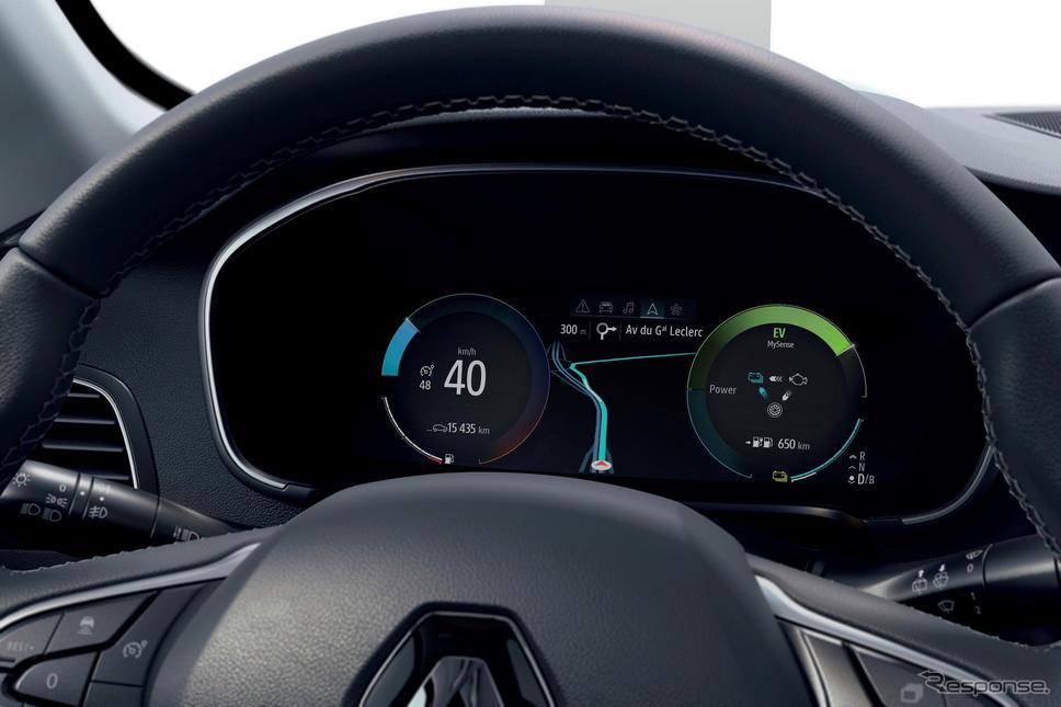 ルノー・メガーヌ・ハッチバック 改良新型のPHV「E-TECH」《photo by Renault》