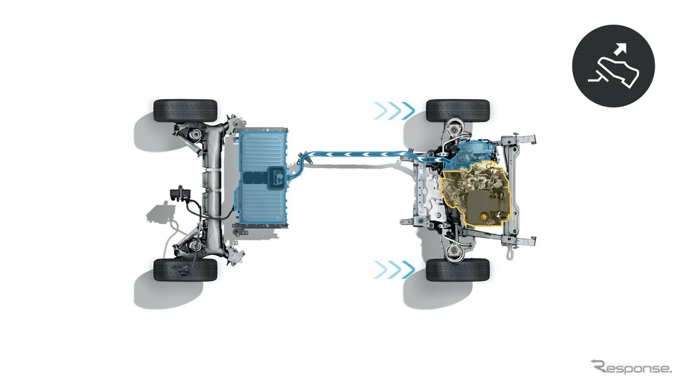 ルノー・メガーヌ ・ハッチバック改良新型のPHV「E-TECH」《photo by Renault》
