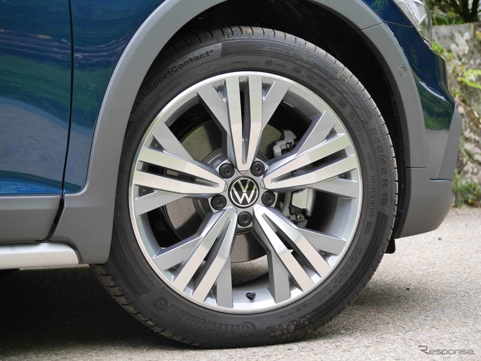 VW パサート オールトラック TDI 4モーション アドバンス《写真撮影 中村孝仁》