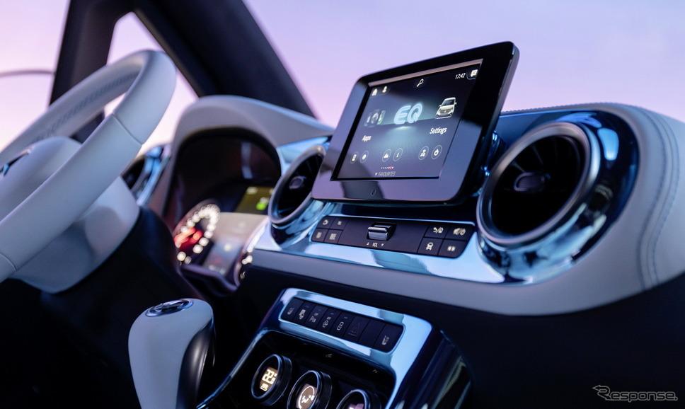 メルセデスベンツ・コンセプト EQT《photo by Mercedes-Benz》