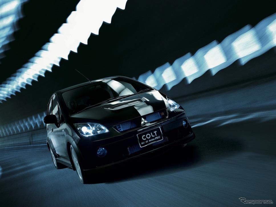 コルト・ラリーアートVersion-R(2010年)《画像提供 三菱自動車》