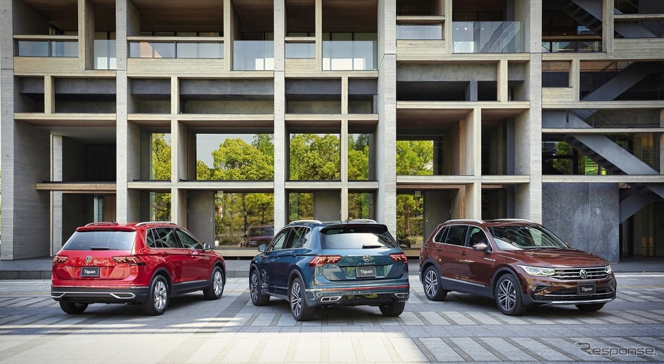 VW ティグアン《写真提供 フォルクスワーゲングループジャパン》