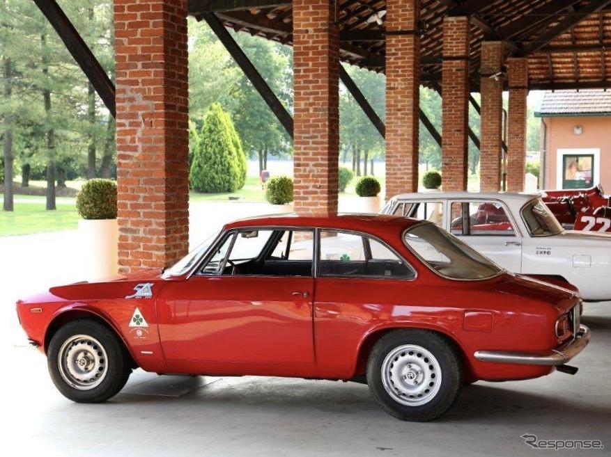 アルファロメオ・ジュリア・スプリントGTA(1965年)《photo by Alfa Romeo》