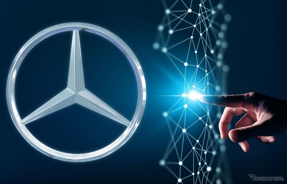 メルセデスベンツの車載ITシステムのセキュリティ強化のイメージ《photo by Mercedes-Benz》
