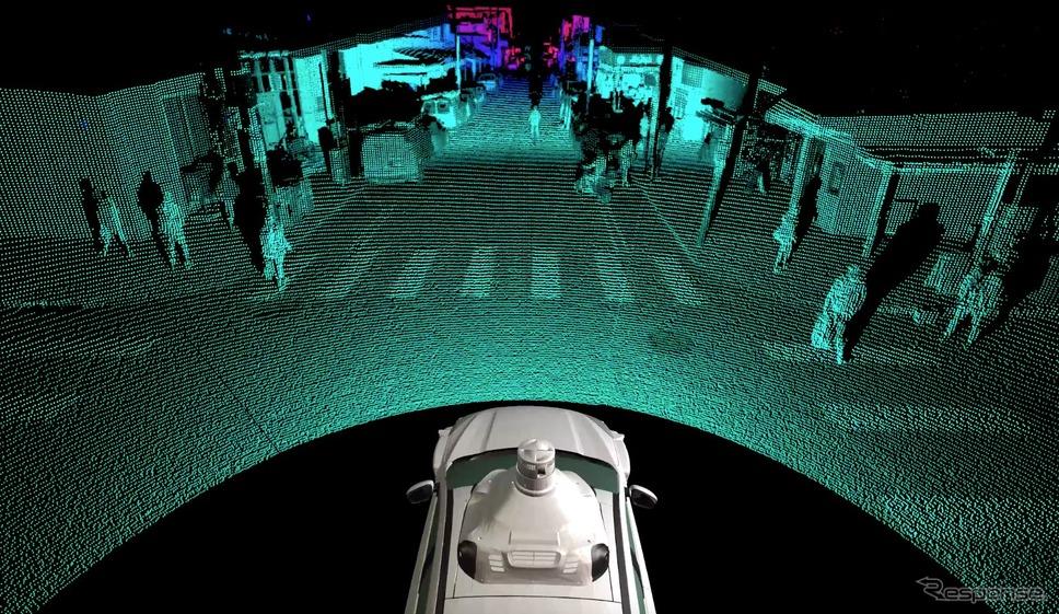 アルゴAIの自動運転システムを搭載するフォルクスワーゲン I.D. BUZZ の自動運転EVのプロトタイプ《photo by VW》