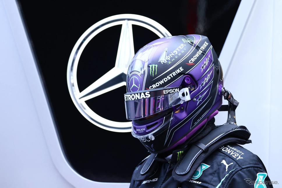 ハミルトンは今季、通算8冠目となる王座を狙って戦っている(写真はスペインGP)。《Photo by Mercedes-AMG F1》