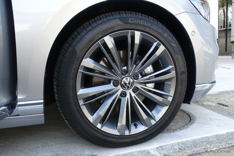 VW パサート TDI エレガンス・アドバンス《写真撮影 中村孝仁》