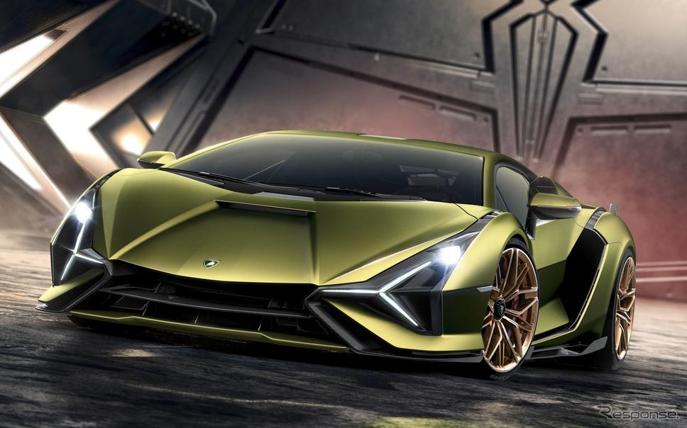 ランボルギーニ・シアン FKP 37(参考)《photo by Lamborghini》