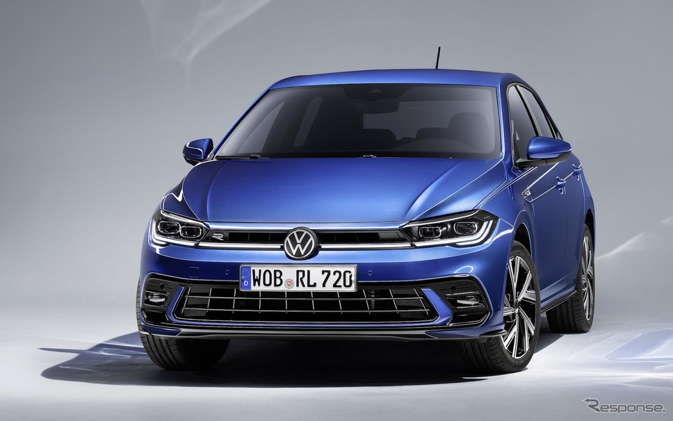 フォルクスワーゲン・ポロ 改良新型の Rライン《photo by VW》