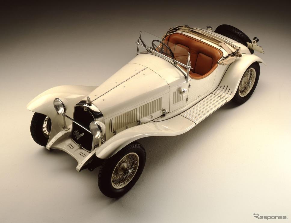 アルファロメオ 6C 1750 グランスポルト(1931年)《photo by Alfa Romeo》