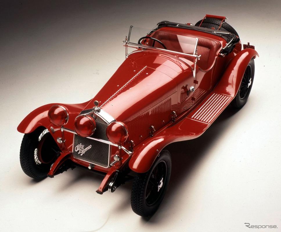 アルファロメオ 6C 1750 グランスポルト(1930年)《photo by Alfa Romeo》
