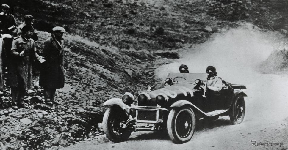 アルファロメオ 6C 1750 グランスポルト(1930年のミッレミリア)《photo by Alfa Romeo》