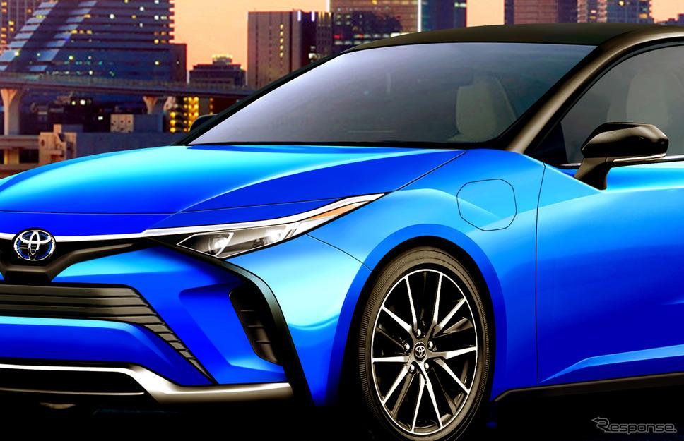 トヨタ bZシリーズ 第二弾となることが予想されるEVスポーツセダンのCGイラストを作成《APOLLO NEWS SERVICE》