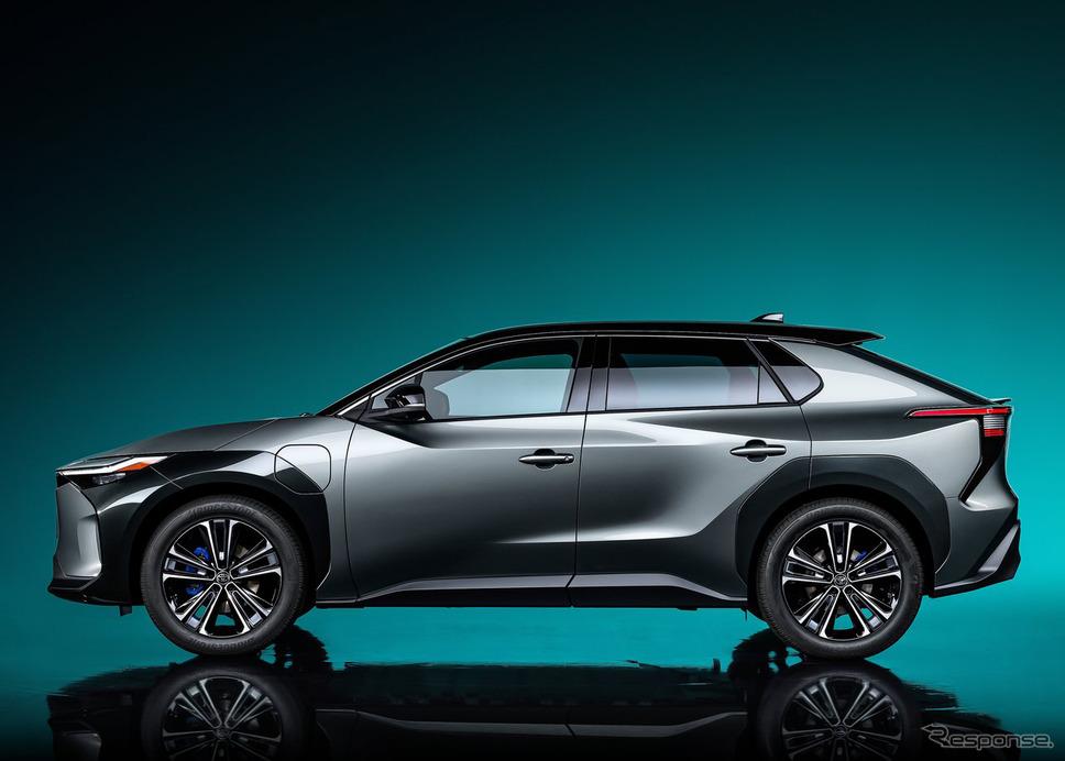 トヨタ bZ4Xコンセプト《写真提供 トヨタ自動車》