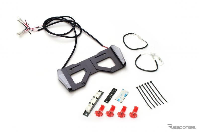 アクティブ LEDナンバーサイドウインカー コンパクト MINI(125cc以下用)《写真提供 アクティブ》