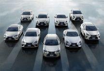 レクサス、電動車のグローバル累計販売200万台…RX400hから16年で達成