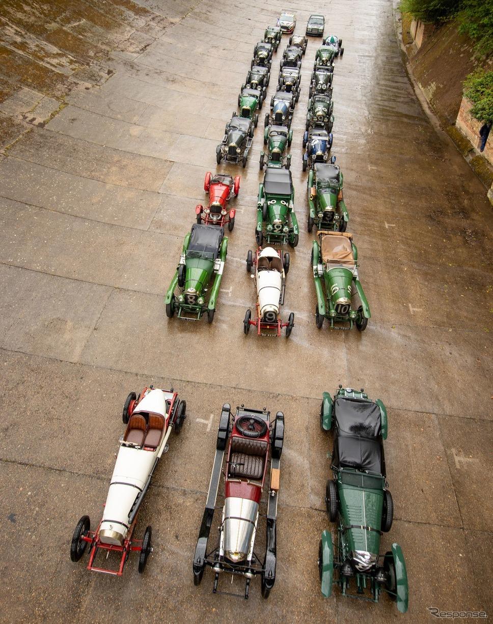 ベントレー EXP 2と同車のレース初勝利100周年を祝福するベントレー 3リッター《photo by Bentley》