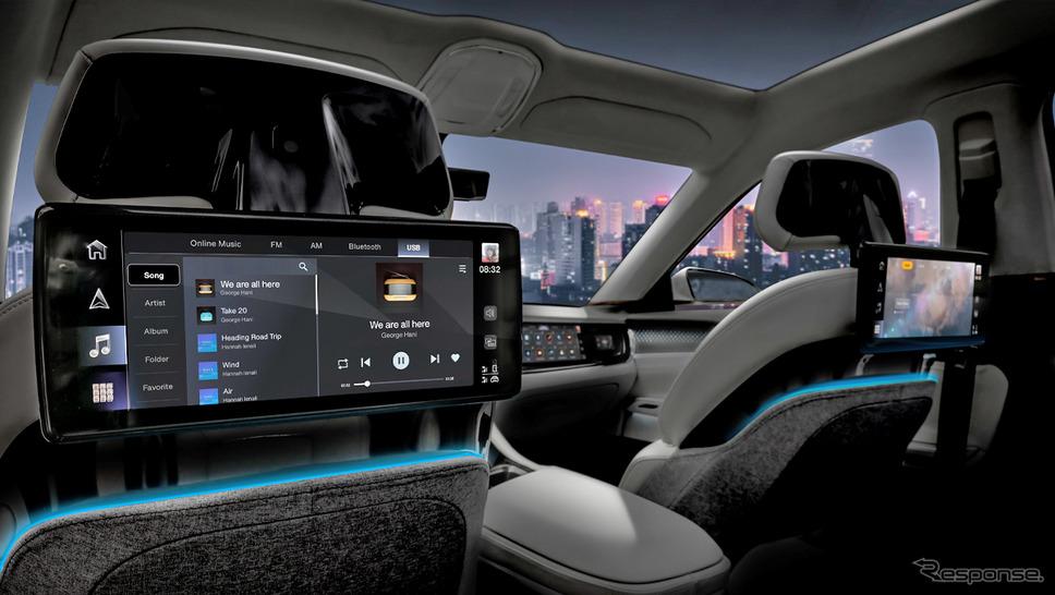 ステランティスとフォックスコンが共同開発する次世代の車載コネクトやインフォテインメントのイメージ《photo by Stellantis》