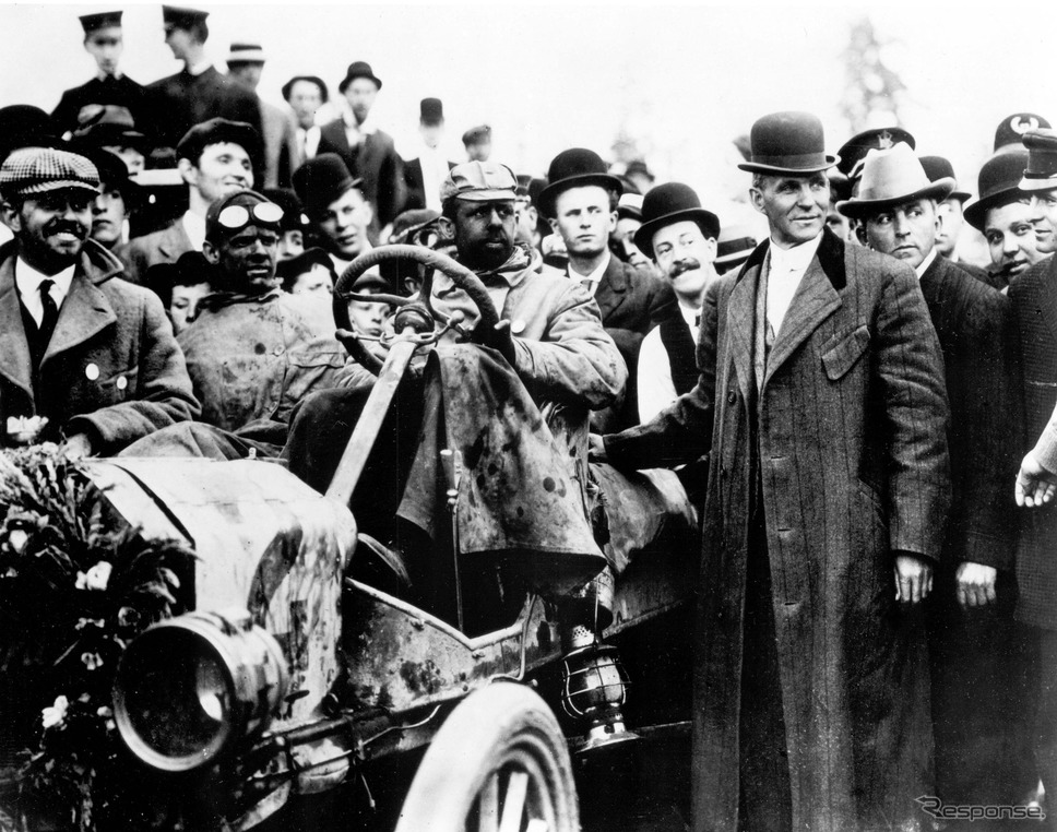 ヘンリー・フォードが モデルT で挑んだ米大陸横断ロードレース(1909年)《photo by Ford Motor》