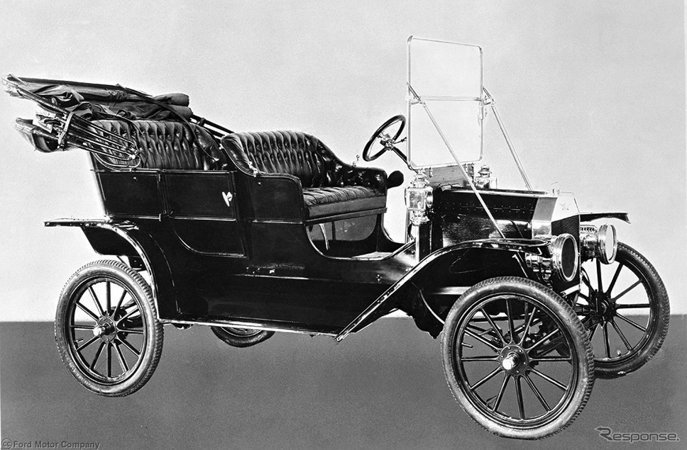 フォード・モデルT(1908年)《photo by Ford Motor》