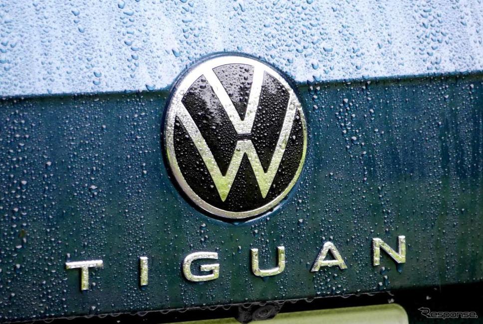 VW ティグアン TSI R-Line《写真撮影 中村孝仁》