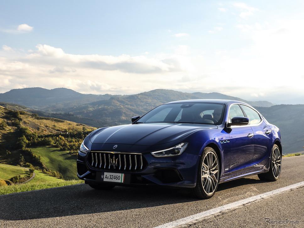 マセラティ・ギブリ・ハイブリッド《photo by Maserati》