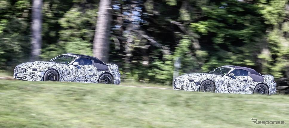 メルセデスAMG SL のプロトタイプ《photo by Mercedes-Benz》
