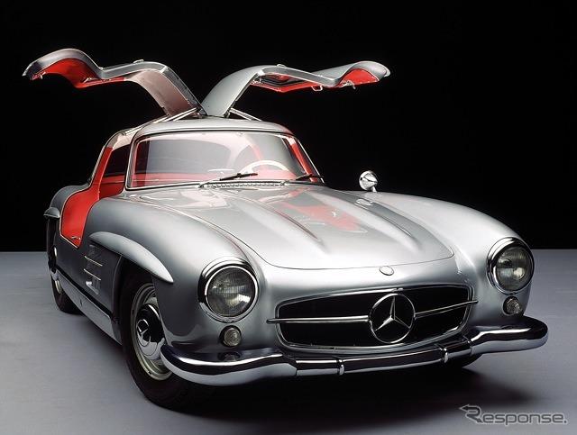 メルセデスベンツ 300SL(1954年)《photo by Mercedes-Benz》