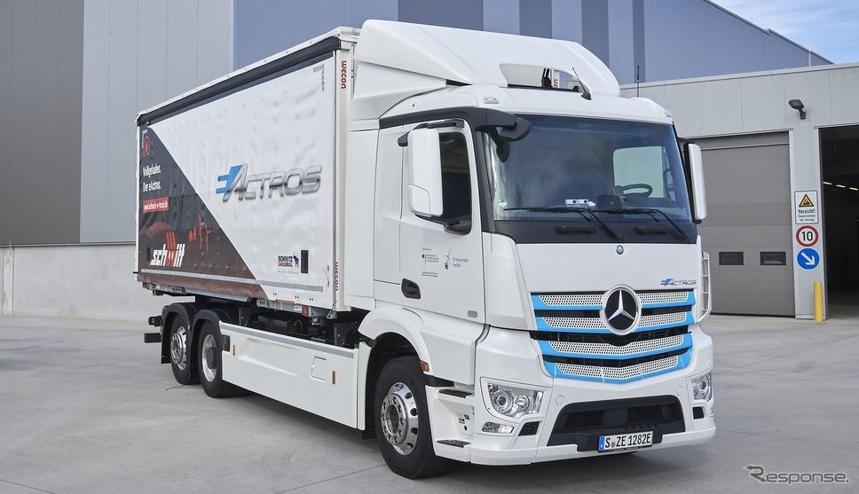 メルセデスベンツ eアクトロス《photo by Daimler Truck》