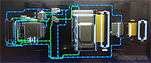 冷却配管(コンセプトモデル)《写真提供 豊田合成》