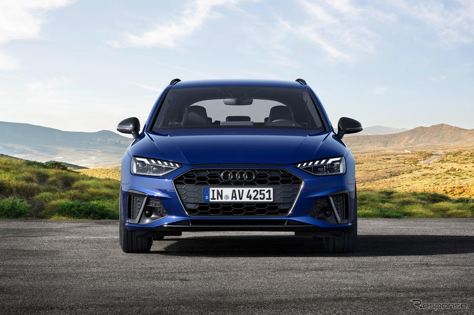 アウディ A4 アバント の2022年モデル《photo by Audi》