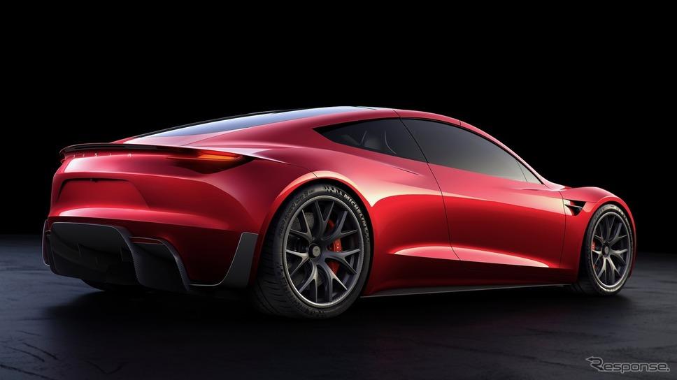 テスラ・ロードスター新型《photo by Tesla》