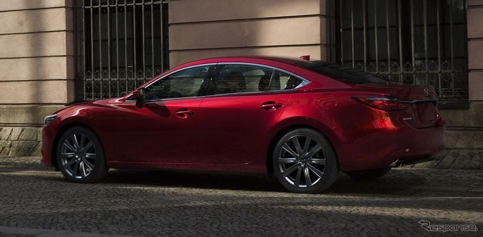 マツダ6(北米仕様)《photo by Mazda》
