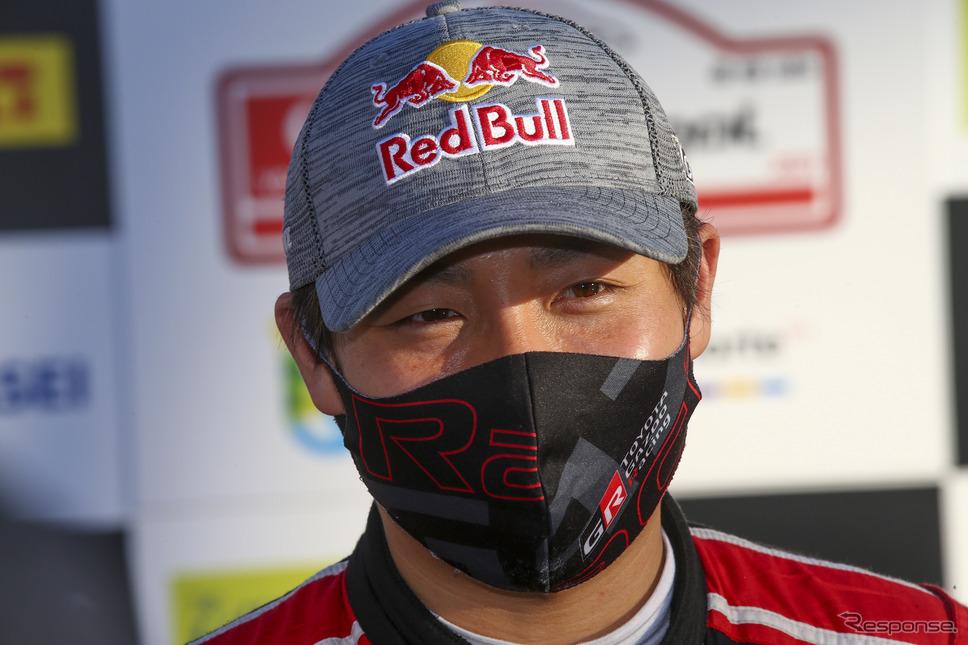 #18 勝田貴元(トヨタ)は自己最高更新となる4位に。《Photo by TOYOTA》