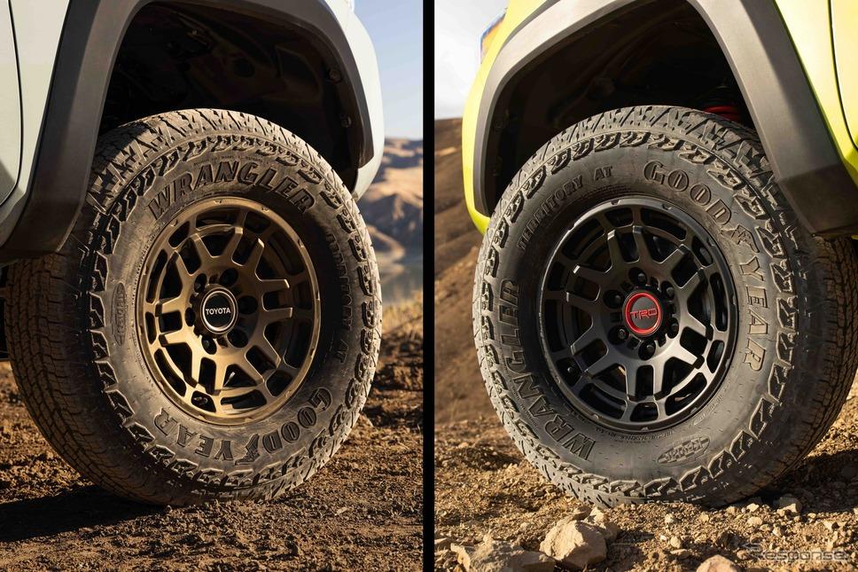 トヨタ・タコマ に追加される2つの新グレードのティザーイメージ《photo by Toyota》